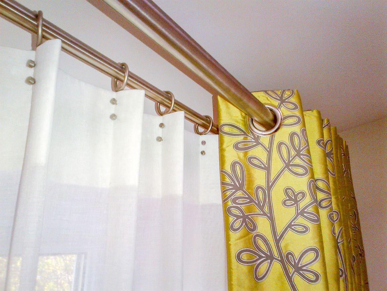 Дизайн штор и карнизов на