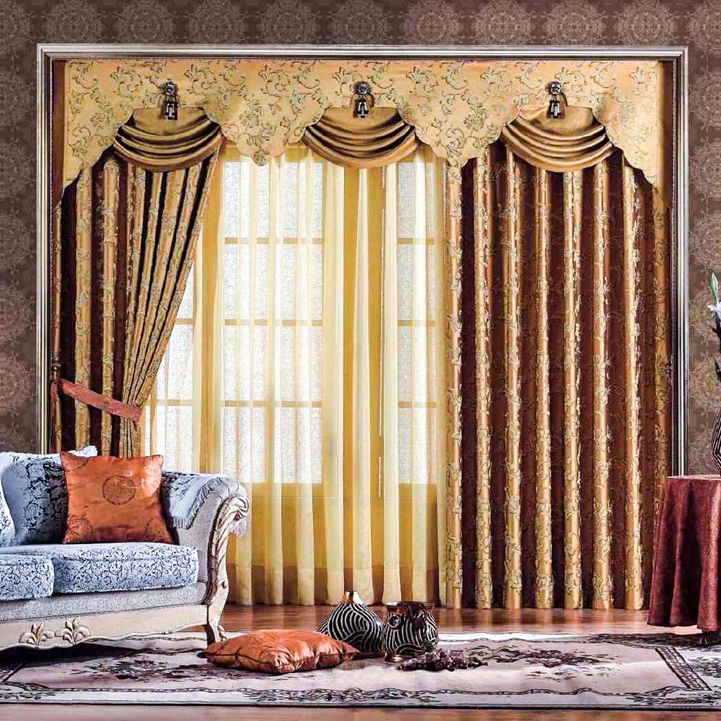 Модные шторы для гостиной
